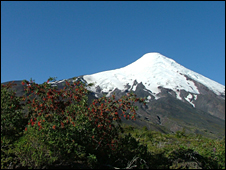 Osorno volcano (University of Oxford)