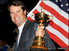 Victorious US Ryder Cup captain Paul Azinger