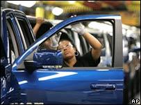 Производство автомобилей в США