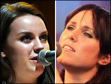 Amy Macdonald and Sandi Thom
