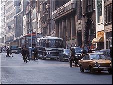 Fleet Street in 1971
