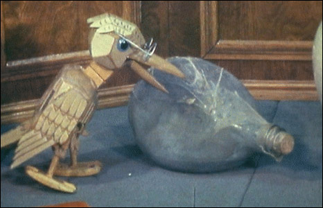Professor Yaffle, from Bagpuss. Courtesy Smallfilms