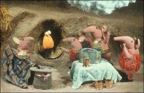 The Clangers. Courtesy Smallfilms