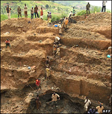 DR Congo miners