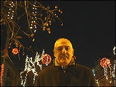 Agim Binaku in Pristina