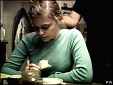 Scene from Barnardo's advert