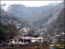 Jamaat-ud-Dawa's camp in Kashmir