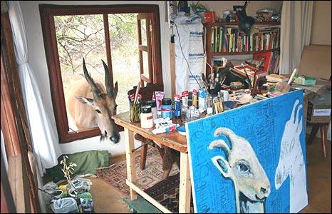 Mariane Hostmark Tveter's studio