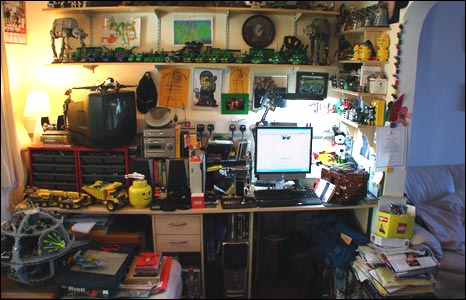 Andrew Summersgill's studio
