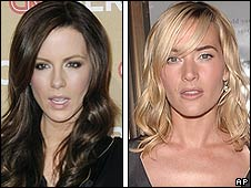 Kate Beckinsale and Kate Winslet