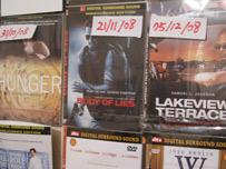 Film release dates