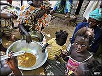 Crisis alimentaria en África