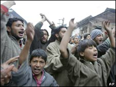 Protests in Indian-administered Kashmir, 7 December