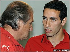 Manuel Jose and Mohamed Aboutrika