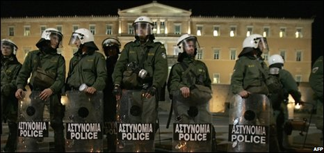 Police can protect the parliament building but votes can still topple the  PM