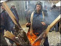 Рабочие из Таджикистана