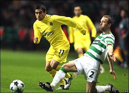 Ariel Ibagaza, Villarreal; Andreas Hinkel, Celtic