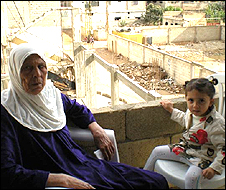 Ofa and her granddaughter