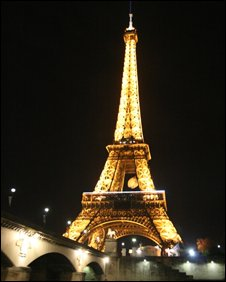 Eiffel Tower, BBC