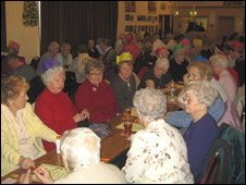 CISWO Disabled Christmas party in Penywaun 2007