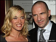 Kate Winslet and Ralph Fiennes