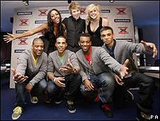 X Factor contestants