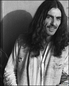 George Harrison in Calcutta in 1972