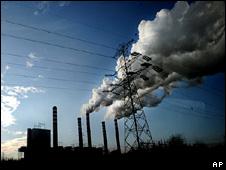 Patnow power plant near Konin, Poland - 3/12/2008