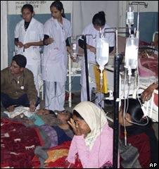 Children treated in Nepal hospital, 12 Dec