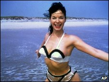Undated photo of Bettie Page