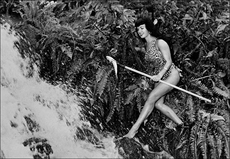 Bettie Page, one of the most