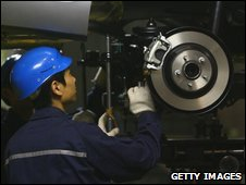 Japanese car worker