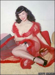 Bettie Page, circa 1955