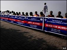 Human chain in Mumbai, 12 Dec