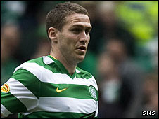 Celtic striker Chris Killen