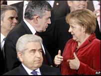 Líderes de la UE