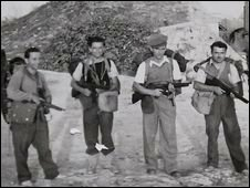 albanian partisans