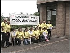 Schools closure protest