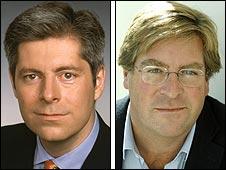 Justin Webb and Edward Stourton