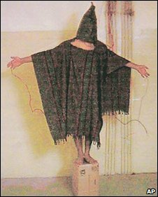 Image of abuse at Abu Ghraib