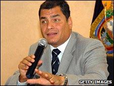 Ecuador President, Rafael Correa