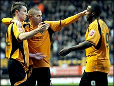 Kevin Foley, Michael Kightly and Sylvan Ebanks Blake