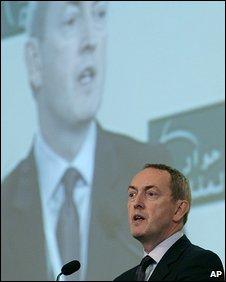 UK Defence Secretary John Hutton