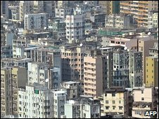 General view of the Mong Kok area (file photo)