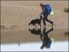 Seb Green on Chesil Beach