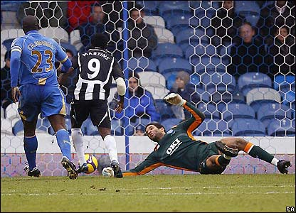 Martins beats David James