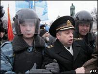 Сотрудник московского ОМОНа и отставной полковник