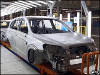 Производство автомобилей под Петербургом