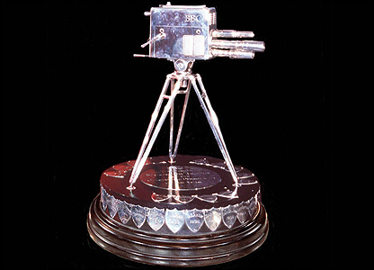 The SPOTY trophy