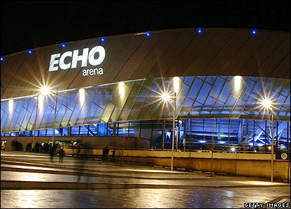 The Echo Arena in Liverpool